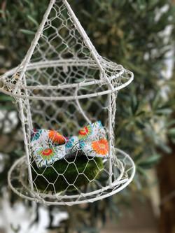 noeud papillon en cage