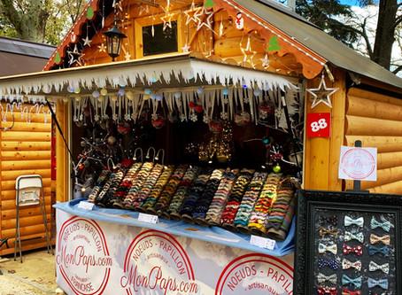 Les Hivernales marché de Noël à Montpellier.