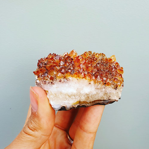 Citrine Crystal Clusters (varying sizes)