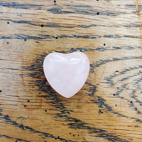Rose Quartz Heart 4cm