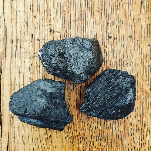 Raw Black Tourmaline Large