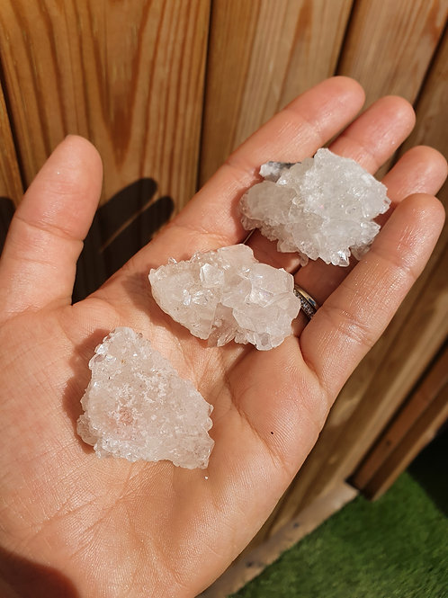 Apophyllite Small Clusters