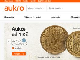 Aukro stabilizuje svou pozici největšího českého aukčního online tržiště (2/2)
