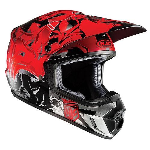 HJC CS-MX II MX Helmet Graffed Red