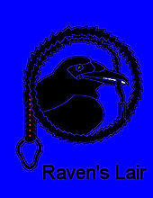 Raven's Lair Logo Adult Education BDSM