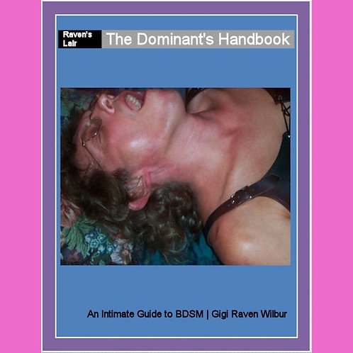 The Dominants Handbook- Paperback Book