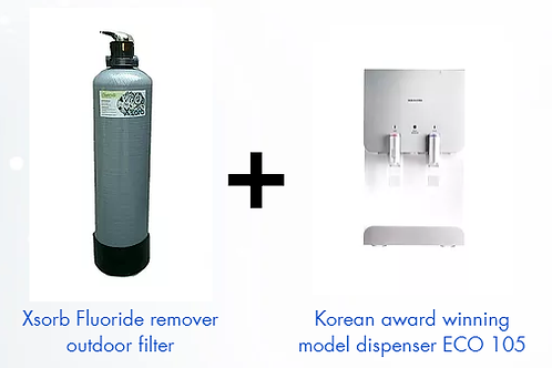 Year End Combo - LiveWell Xsorb POE + ECO 105 Hot & Cold Dispenser