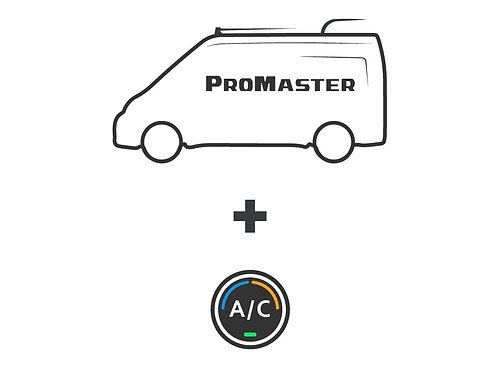 ProMaster A/C upgrade