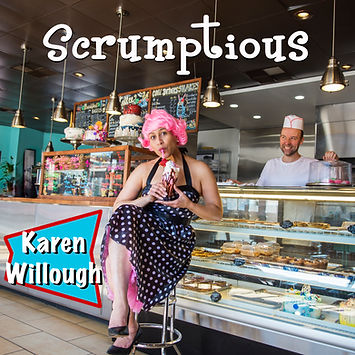 """Scrumptious"" CD cover"