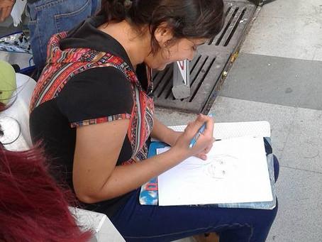 Colectivo VDA se tomó el paseo 21 de mayo en apoyo al sur