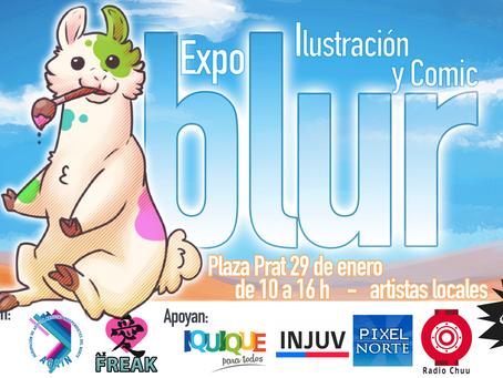 BLUR será la próxima expo de artistas locales en Iquique
