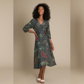 Mayamiko, the sustainable & ethical brand, announces re-issue of the iconic Dalitso wrap dress