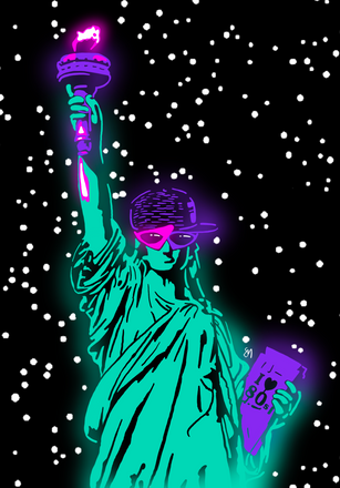 80's Statue of Liberty