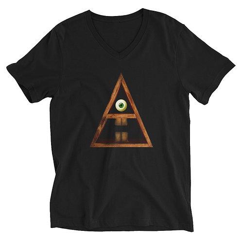 Subliminal Propaganda Primitive A.I  V-Neck T-Shirt