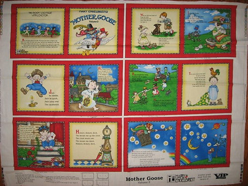 EXCLUSIVE Mother Goose Volume 2 fabric