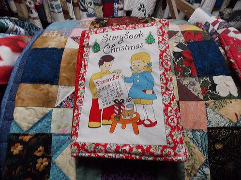 Storybook Christmas children soft story book