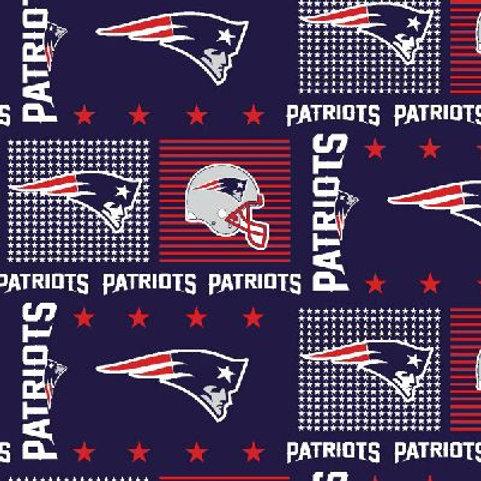 NFL New England Patriot sports fabric