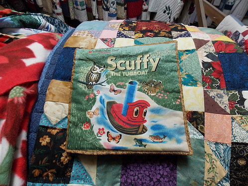 Scuffy The Tugboat childrens soft story book