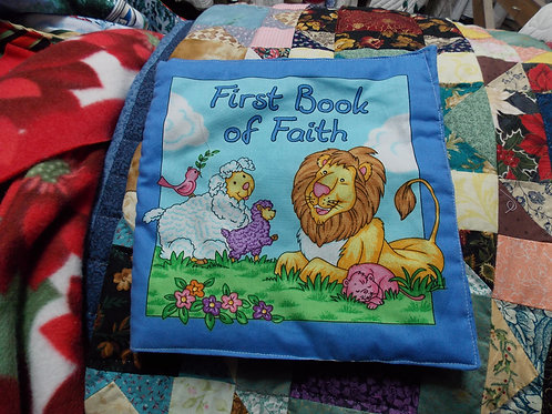 First Book of Faith childrens soft story book