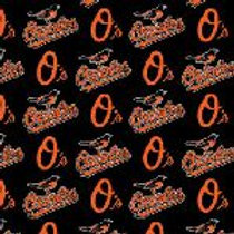 Fabric Traditions MLB Baltimore Orioles