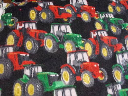 Tractors (black) Fleece