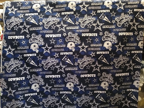 NFL Dallas Cowboys cotton fabric blue