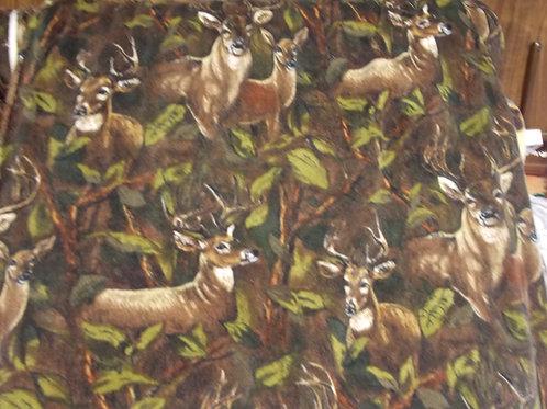 Deer In The Forest Fleece
