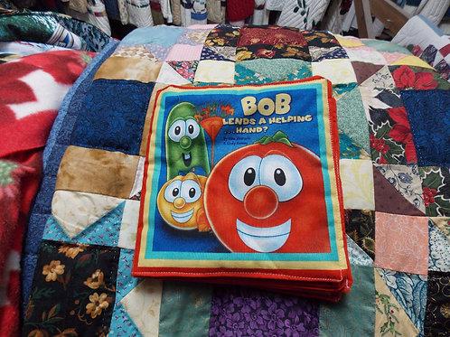 Bob Lends A Helping Hand childrens soft story book