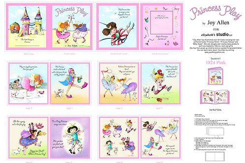 Elizabeth Studios Princess Play Book Panel