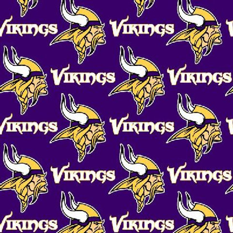 Minnesota Vikings cotton fabric
