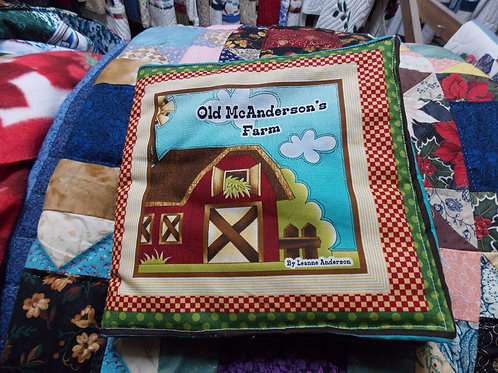 Ol;d McAndersons Farm childrens soft story book
