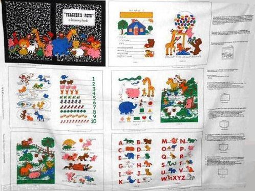 EXCLUSIVE Teachers Pet book fabric