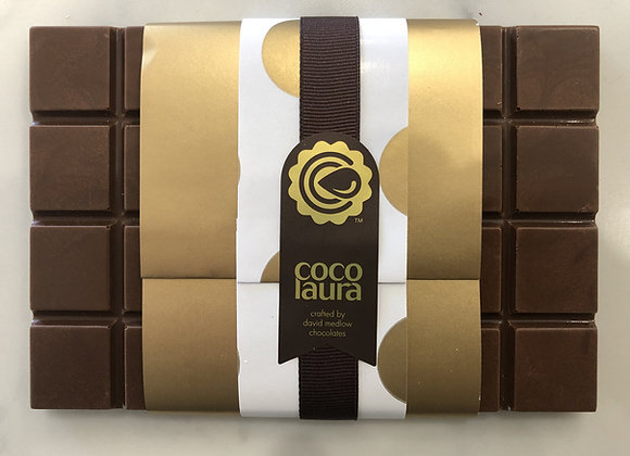 Chocolate Blocks 200gm - Belgian Milk Chocolate with Raspberry Pectin