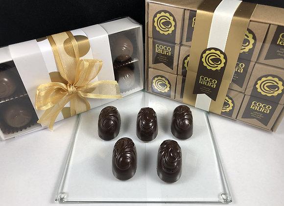 Chocolate Liqueurs - Dark Cherry Brandy 200gm (Gift Pack x12)