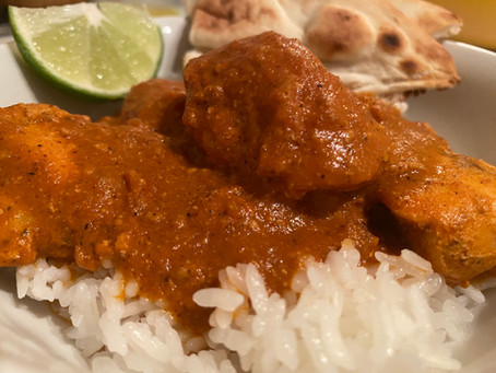 Chicken Tikka Masala--Quarantine Edition