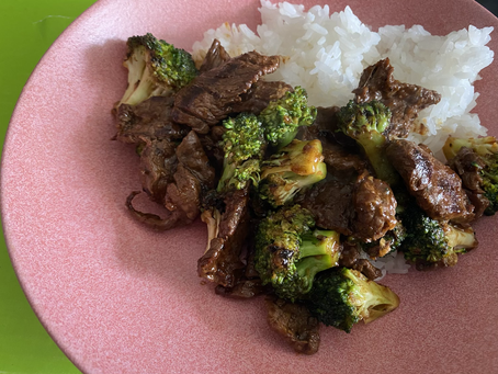Thinking of the Yings: Beef Broccoli Recipe