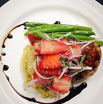 West Michigan Caterer | Plated Dinner Menu