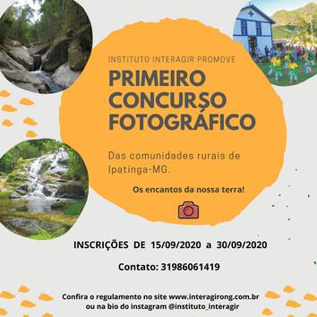 Instituto Interagir promove Concurso Fotográfico