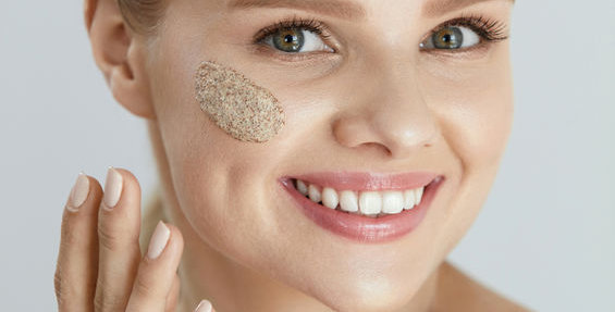Frankincense Facial Scrub