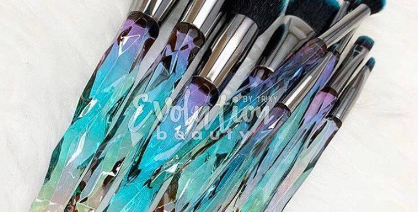 Topaz Makeup Brush Set
