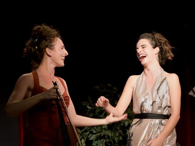 Elsa Moatti et Suzanne Ben Zakoun.