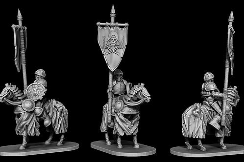Skeletal Cavalry - Standard Bearer
