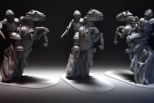 Skeletal Cavalry - Bucking Sword STL file