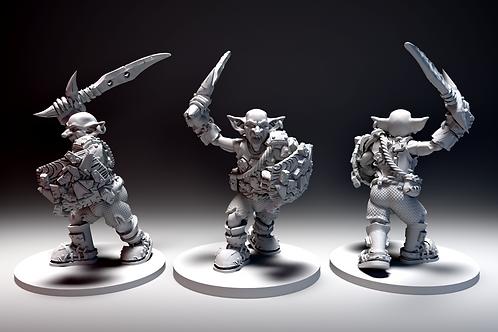 Goblin - Sword and Shield Charging STL file