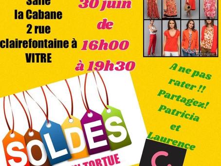 Vente de vêtements CAPTAIN TORTUE : couleurs et remises avant les vacances !