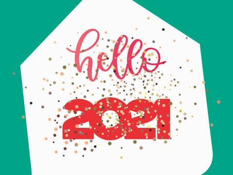 Tous nos vœux de bonheur pour 2021 !