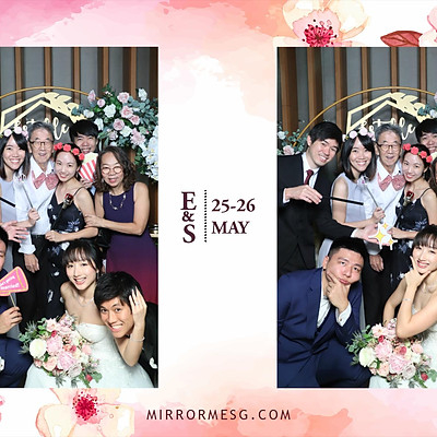 Wedding of E & S