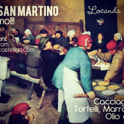 """Pranzo di San Martino"""" alla Locanda Cast"""