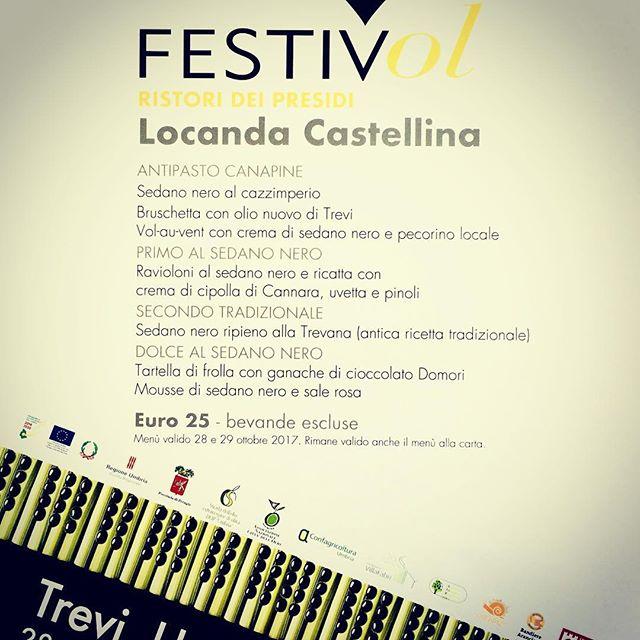 #festivol alla #locandacastellina #piatt