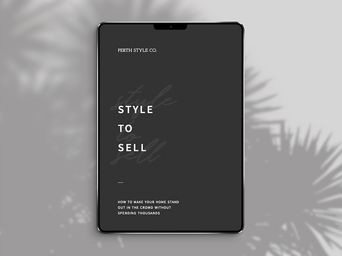 Style to Sell E-Book